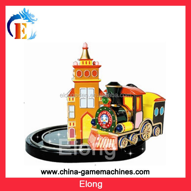 Kids amusement rides on England train,vintage electric railway train for sale