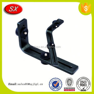 customized stamped Metal Camera Bracket aluminum rear camera mounting bracket with knurled screw sets