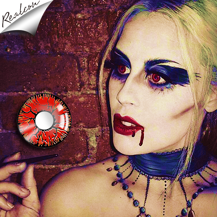 Realcon Wholesale Colored Contact Lenses Halloween Contact lenses Cosplay Contact Lenses Crazy Contact Lenses фото