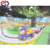 kids entertainment equipment car roller coaster for sale