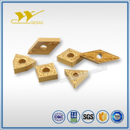 GESAC CNMG-QF turning inserts for finishing of general steel and alloy steel