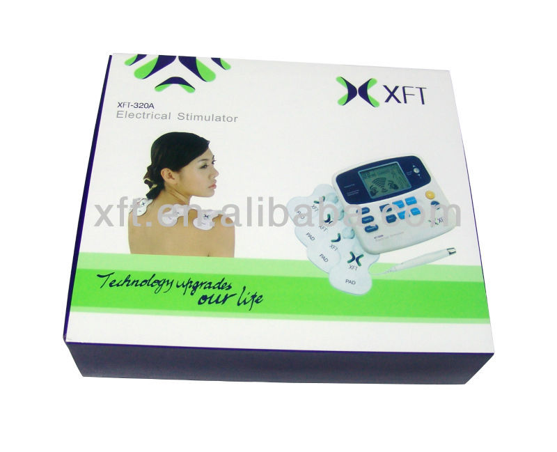 CE Electronic Muscle Stimulators with Acupuncture Pen (ISO13485 Manufacturer)