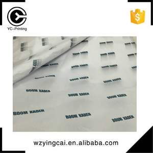OEM printed tissue paper shiny made fancy clothing wrapping paper
