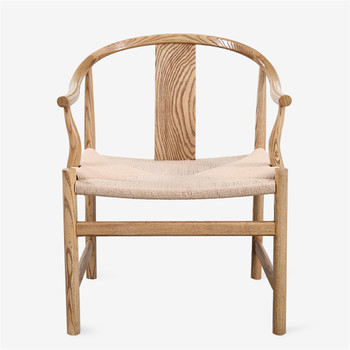 Chinese Style Wooden Chair With Rope Seat For Restaurant Dining Low Price  Overstock Clearance