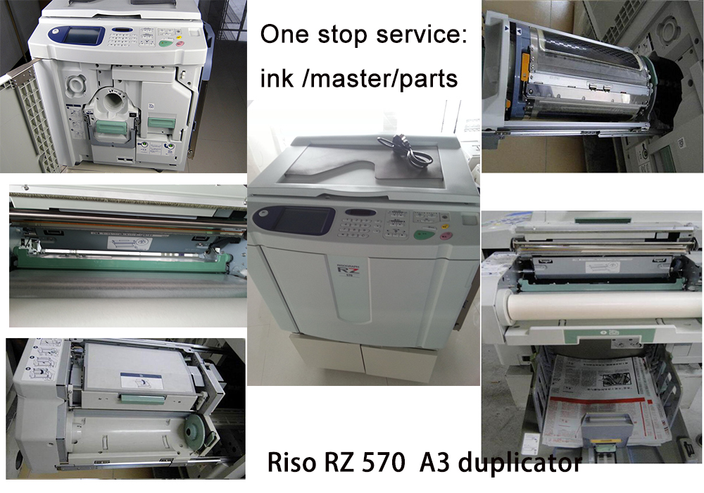 used and reconditioned  RISOs RZ570 A3 Digital Duplicator photocopy machine