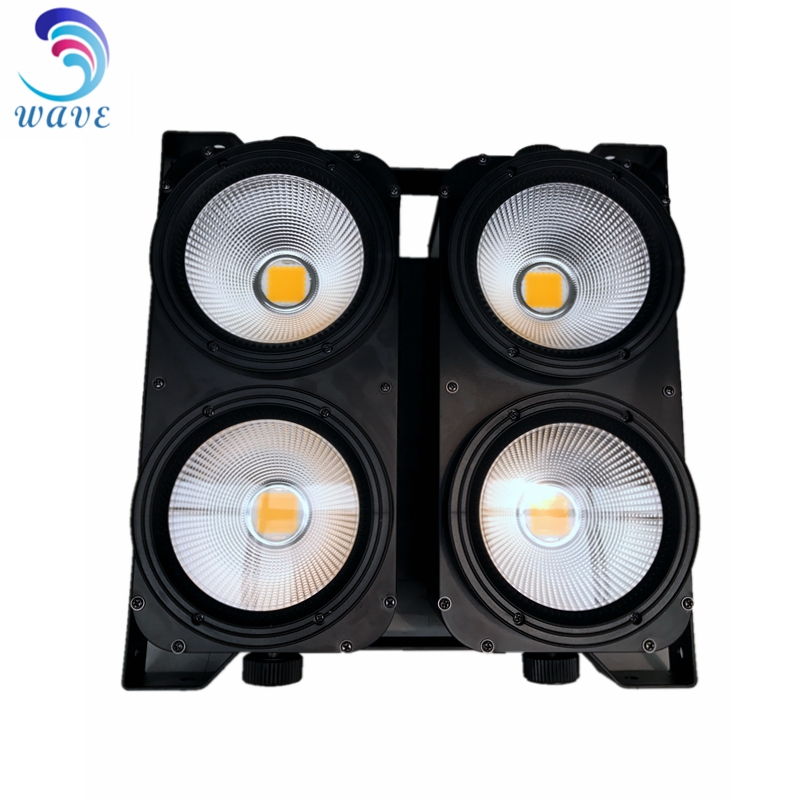 Hot 4eyes Warm White Cob 400W Stage Audience Blinder Lights