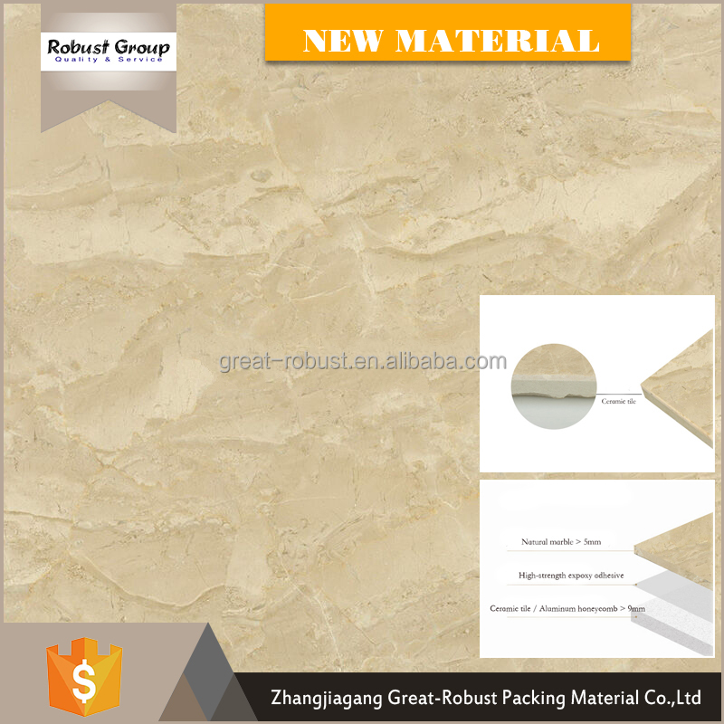 Popular decorative marble plate flooring border designs for hall