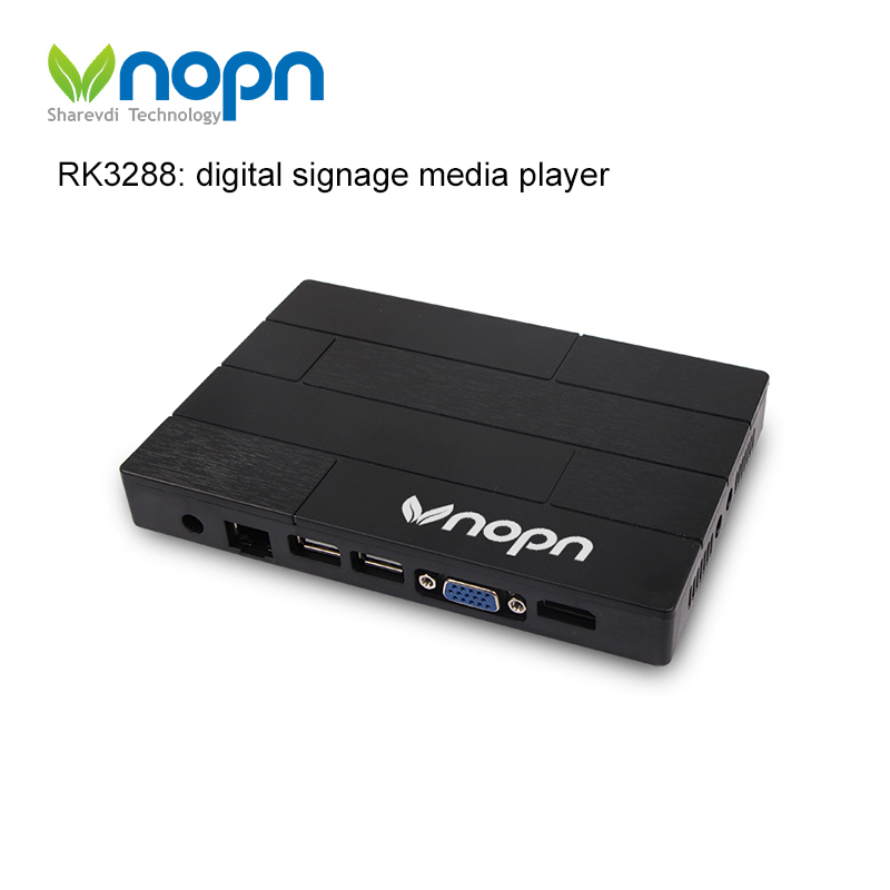 Android rk3288 Cloud Network media player digital signage