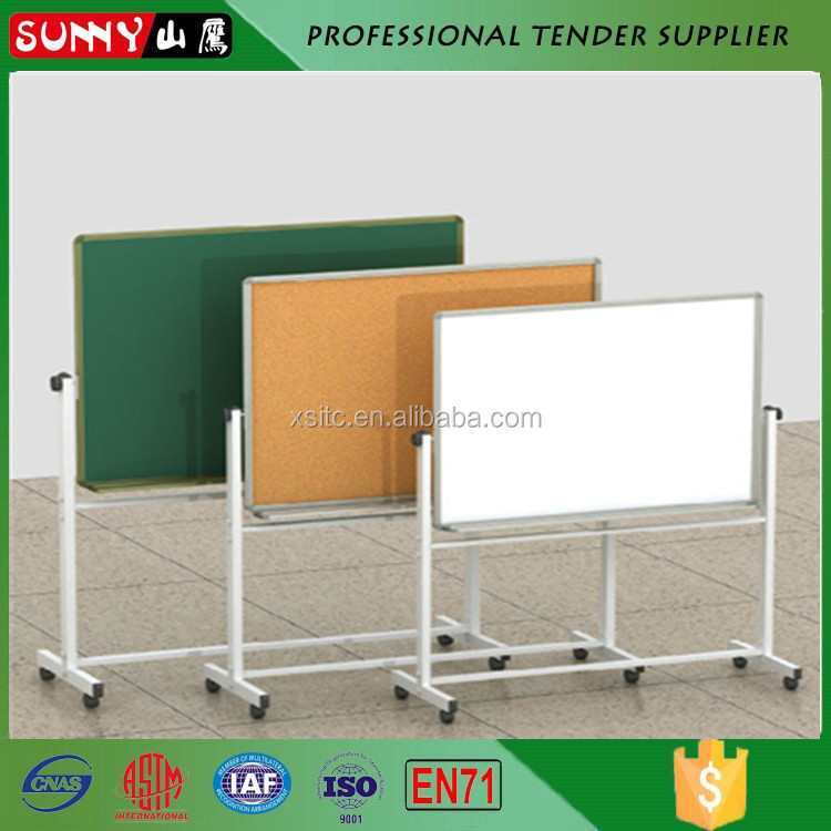 Aluminum frame display soft pin boards for schools