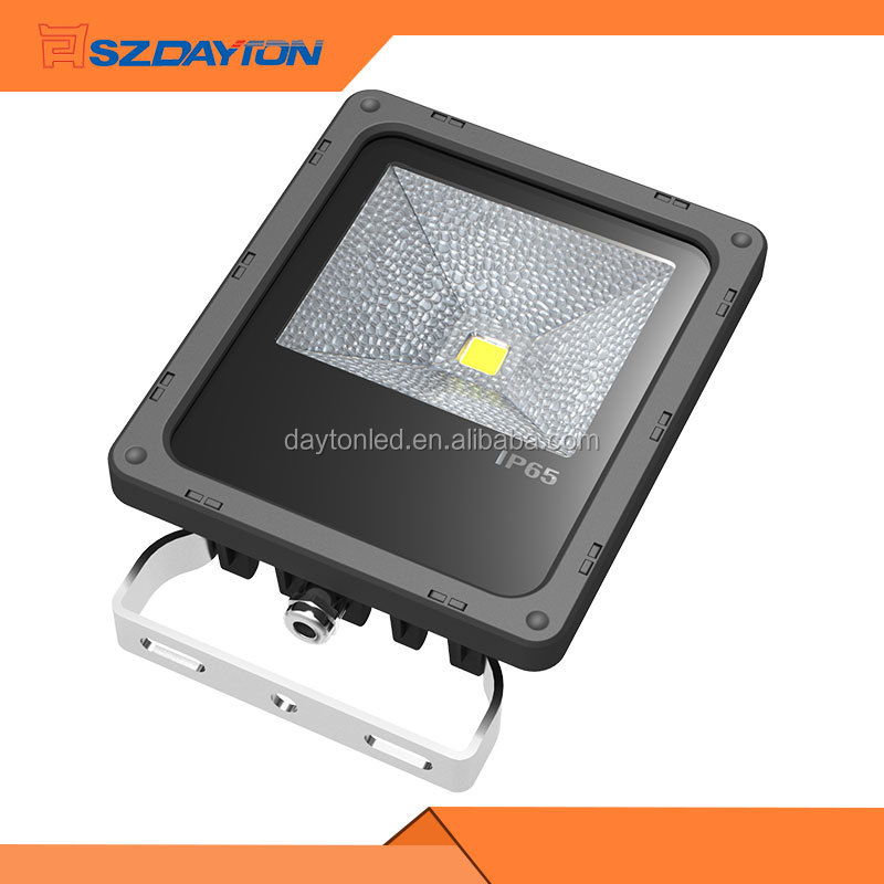Black AC85-265V Waterproof IP65 LED Flood Light Outdoor 20W 30W 50W 80W 100W