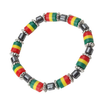Rasta Color Meaning Bead Necklace Bracelet Stock