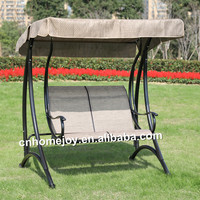 Luxury 2 person swing chair with canopy