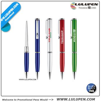 Letter Opener Ballpoint Pen Combo Lu 7077 Writing Logos With Pens