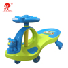 No battery driving toy car manpower child scooter baby swing ride on car with music and light