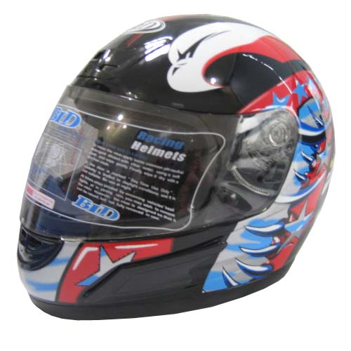 MOTORCYCLE ACCESSORY FULL FACE HELMET