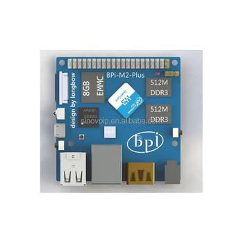 Factory Price Banana Pi Bpi-m2+ With Mali400mp2 Supports Opengl Es 2 0 And  Sdio Ap6212 (option Ap181/ap6335) - Buy Bpi-m2+,Banana Pi,Bpi Product on