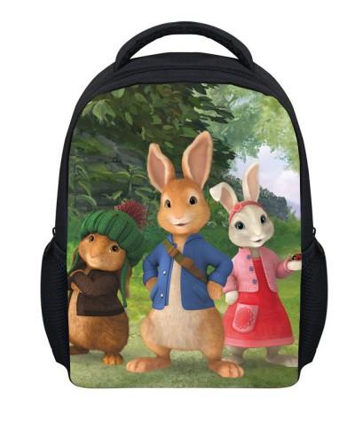 Newest Peter Rabbit Backpack Children'S School Bags For ...