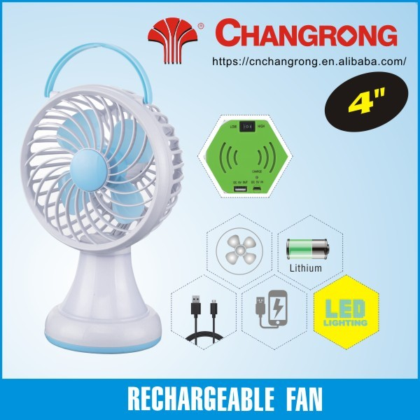 rechargeable mini table fan mini electric solar fans dc