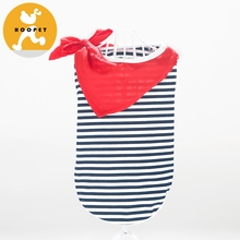 Horizontal Stripe Wholesale Cat Clothes Pet Coat Pet Cloth And Accessories