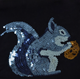 Animal Pattern Embroidery Two Way Reversible Sequin Patch For T-shirts