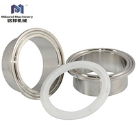 DIN 3A SMS Sanitary Stainless Steel 304/316L Dairy Pipe Fitting Prices