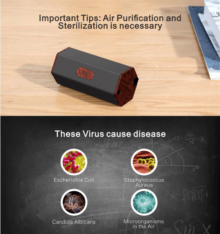 Portable Magic indoor office air purifier for office