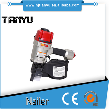 High quality pallet making 15 degree wire coil nails Coil Nailer CN80
