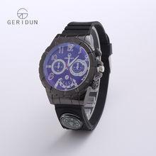 Reloj Hombre 2017 Geridun модные спортивные мужские часы с компасом Лидирующий бренд Роскошные военные мужские кварцевые наручные часы Relogio Masculino(Китай)