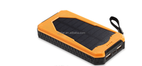 2016 External Battery New Solar Power Bank 10000mah solar Charger Powerbank For HTC For PSP