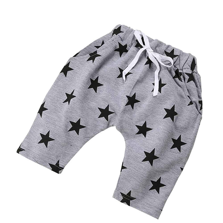 Kids Tales Little Baby Boys Girls Star Adjustable Elastic Waist Short Pants