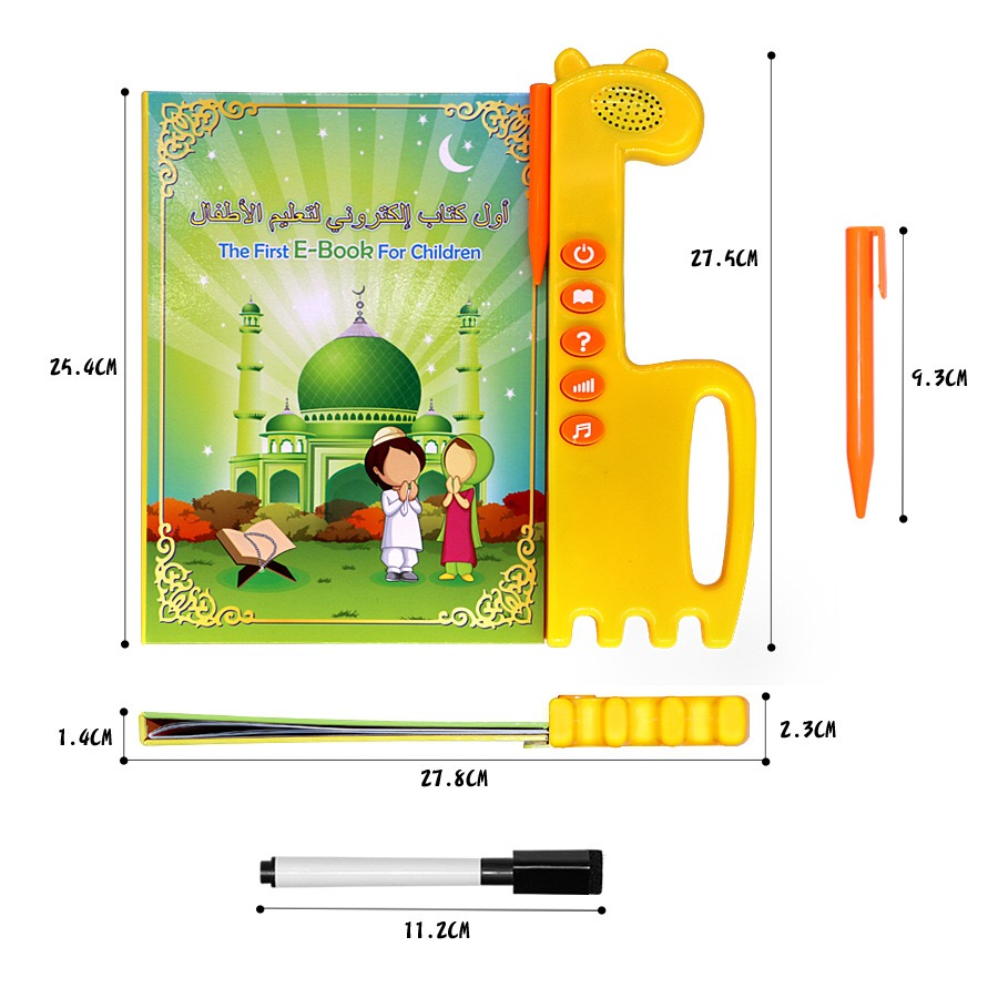 Islamic electronic talking book for children learning english/<strong>arabic</strong>, kids sound book ,quran talking book