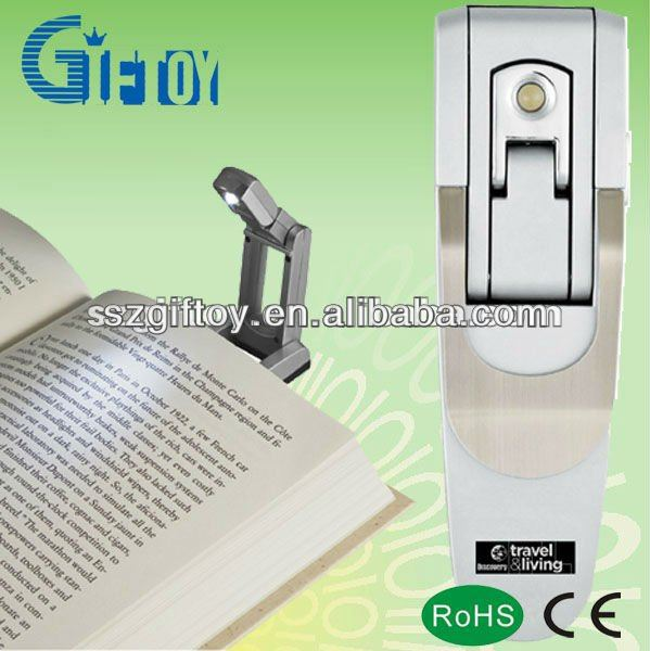 Gift mini led book light with clip