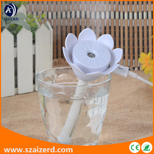Lotus Air Moisturizer for Water Bottle with LED Indicator Light