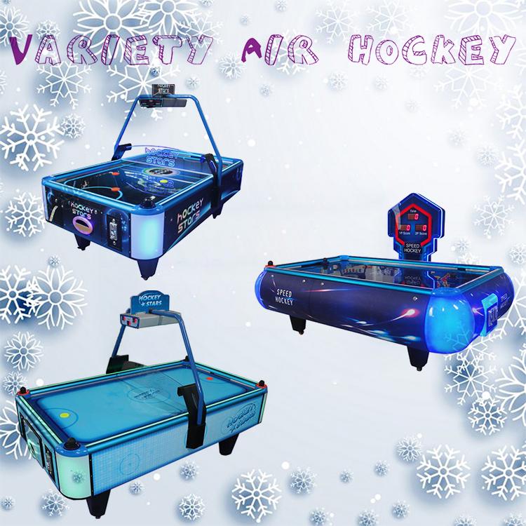 2019 Vui Chơi Giải Trí đồng xu trò chơi máy hoạt động không khí sang trọng hockey bảng