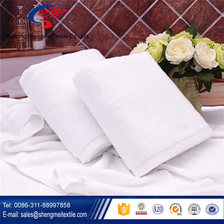 YiWu Terry Towel 5 Star Hotel Bath Towel with Embroidery Logo