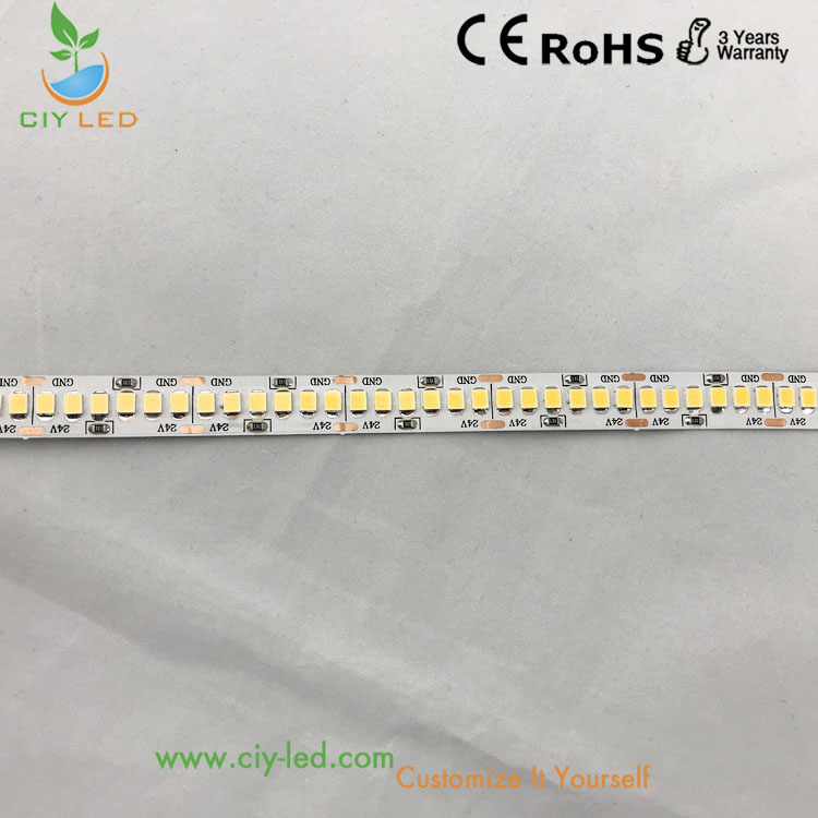 Cri 90 led strip 2835 led strip light 240 leds per meter
