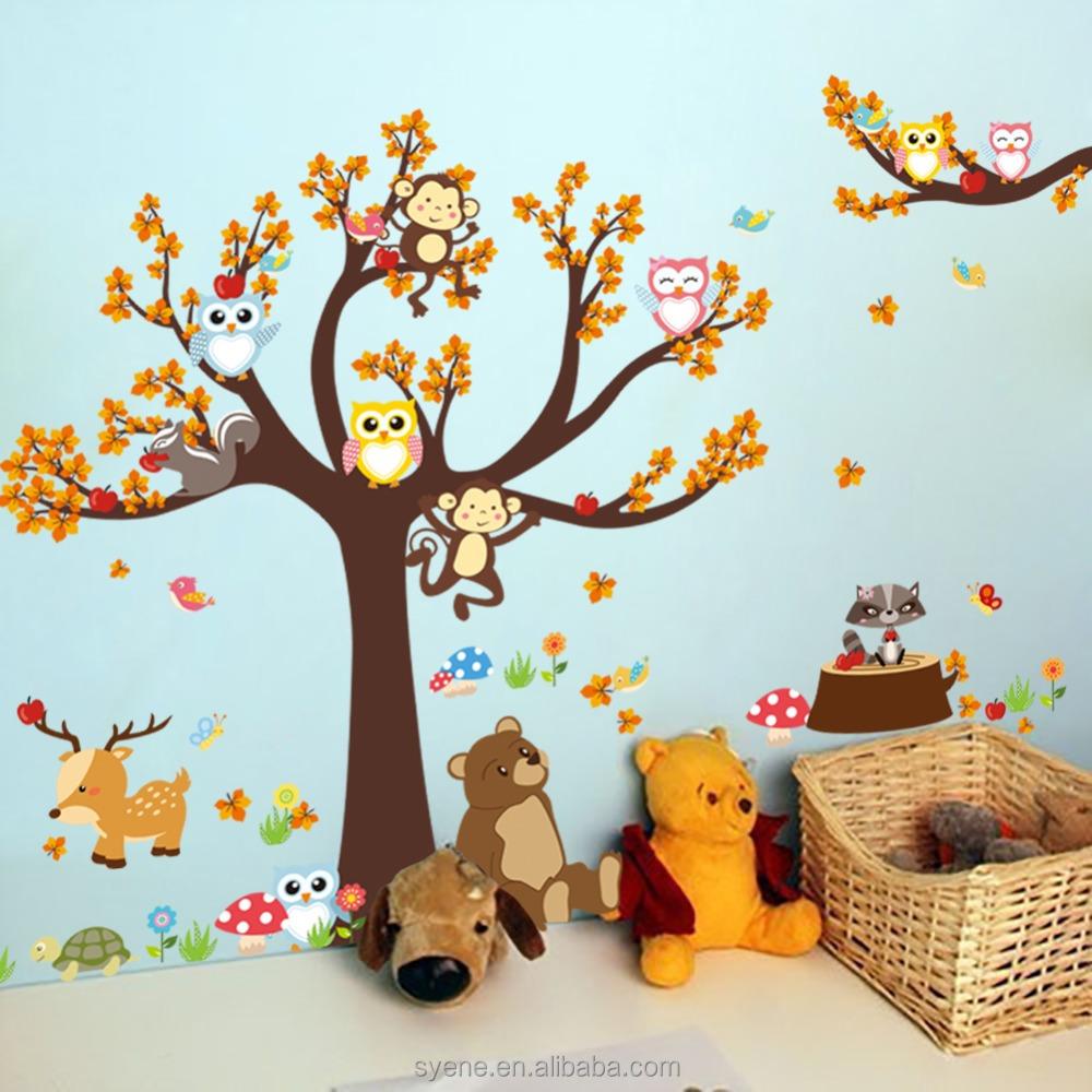 Gambar Kartun Monyet Di Pohon