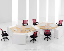 New style 6 persons office workstations modular office furniture
