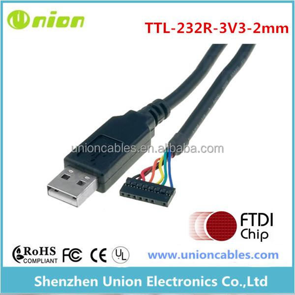 vdrive2 Ftdi ttl-232r-3v3-2mm usb-serial Câble vmusic2 module