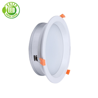 Indoor Used Saa Certificated 3 Years Warranty High Quality 3w 5w 7w 9w 12w 18w Ce Rohs Ip65 15w Cob Frosted Glass Led Downlight