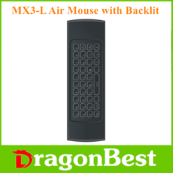 2017 more popular MINIX K2BTWireless Keyboard MX3 backlit 2.4g ott user manual Air Mouse for TV Box PCs OS