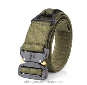 Military Equipment Emergency Rigger Waist Belt Knock Off Army Men Combat Heavy Duty Tactical Belts Nylon Waistband