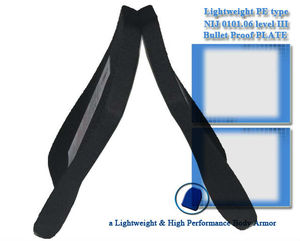 Super Lightweight NIJ Level III PE Bulletproof Plate Stand Alone /High Ballistic Performance insert