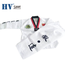 Multicolor kragen middleweight <span class=keywords><strong>TaeKwonDo</strong></span> <span class=keywords><strong>Uniform</strong></span>