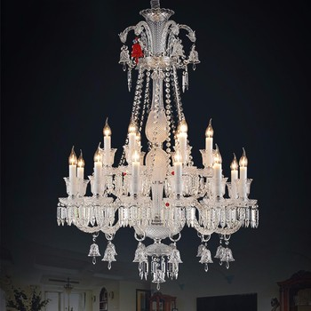 18 lights k9 crystal murano glass baccarat chandelier banquet hall 18 lights k9 crystal murano glass baccarat chandelier banquet hall lighting lamps 81063 aloadofball Images