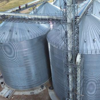 Heat preservation silo and accessories , Assembly storage steel silo, Galvanized steel silo