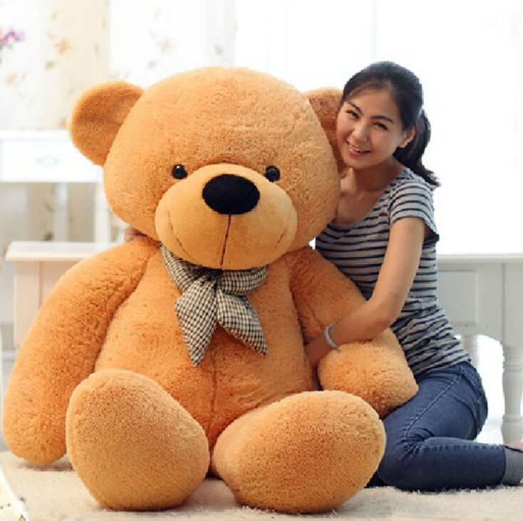 80 120cm 3 colors giant large size teddy bear plush toys stuffed toy lowest price birthday. Black Bedroom Furniture Sets. Home Design Ideas