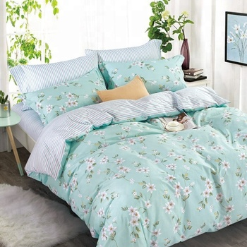 Factory direct sale low price bedsheets duvet cover sets digital printed king size 100% cotton bed sheets
