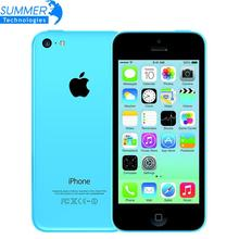 Original Brand factory Unlocked Apple iPhone 5C Mobile Phone 16GB 32GB dual core WCDMA WiFi 8MP Camera Cell Phones Smartphone