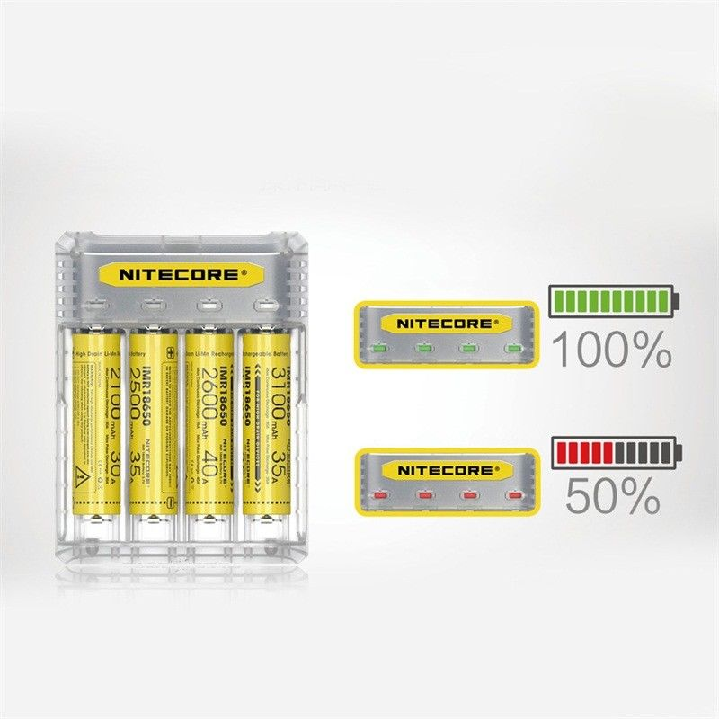 2017 New Series 2A Quick Charge Nitecore Q4 -4 Port Charger w/Multiple Colors Available